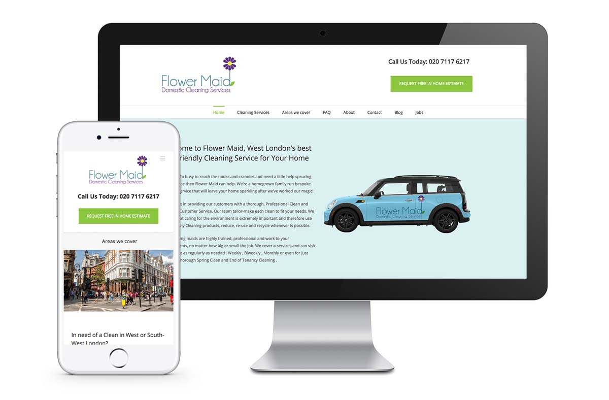 web design for uk company mockups